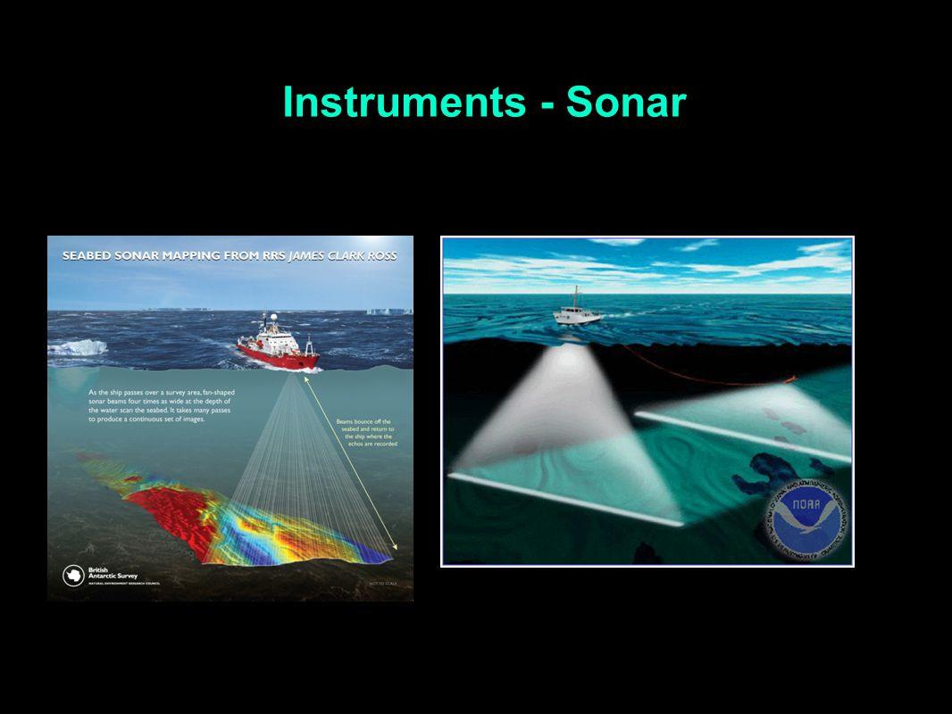 Instruments - Sonar