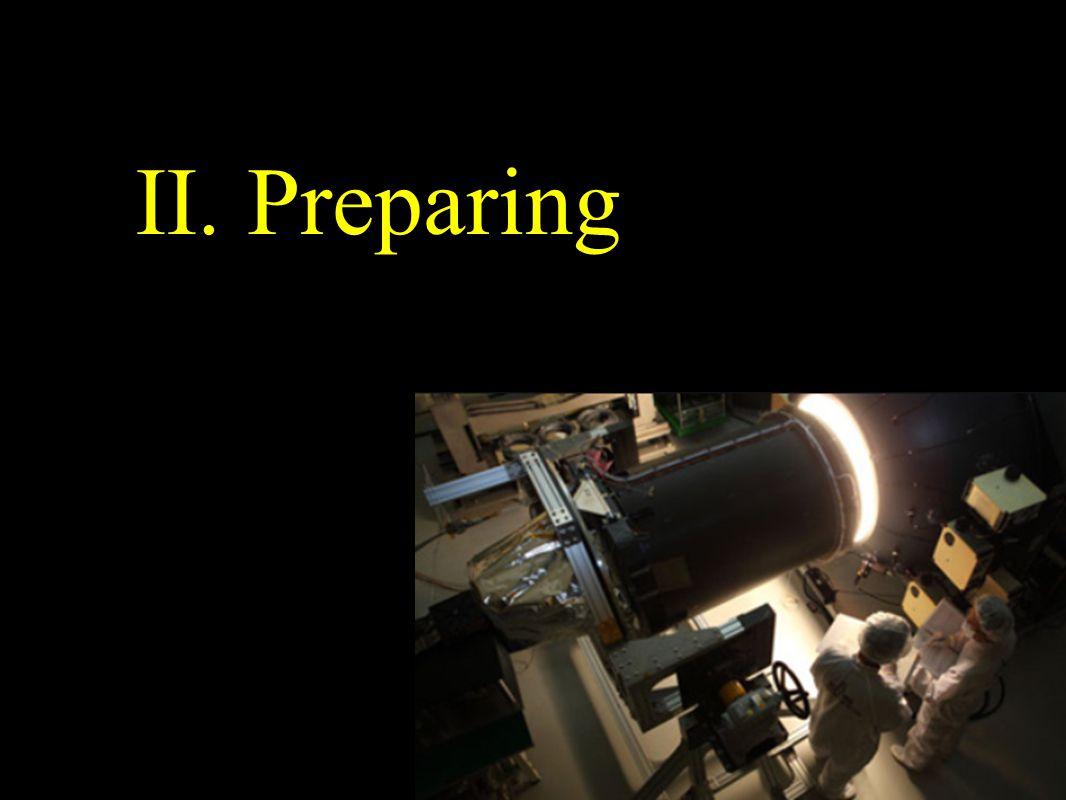 II. Preparing