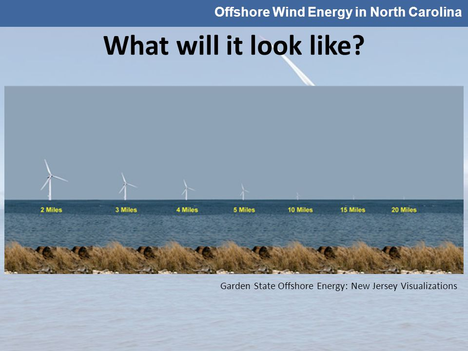 Offshore Wind Energy in North Carolina What will it look like.
