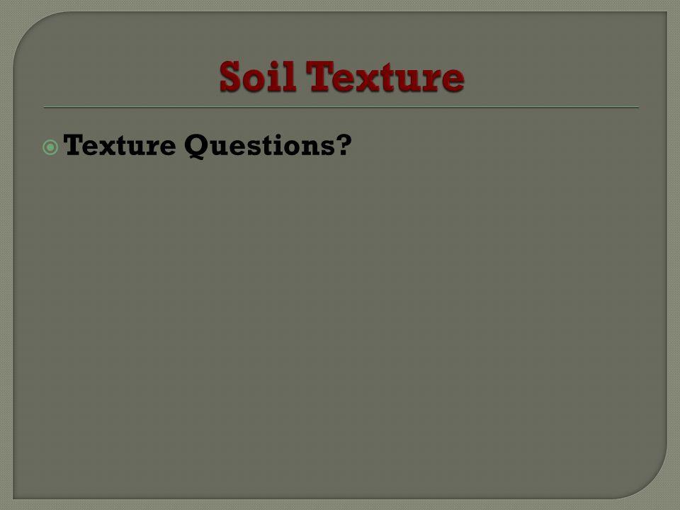 Texture Questions?