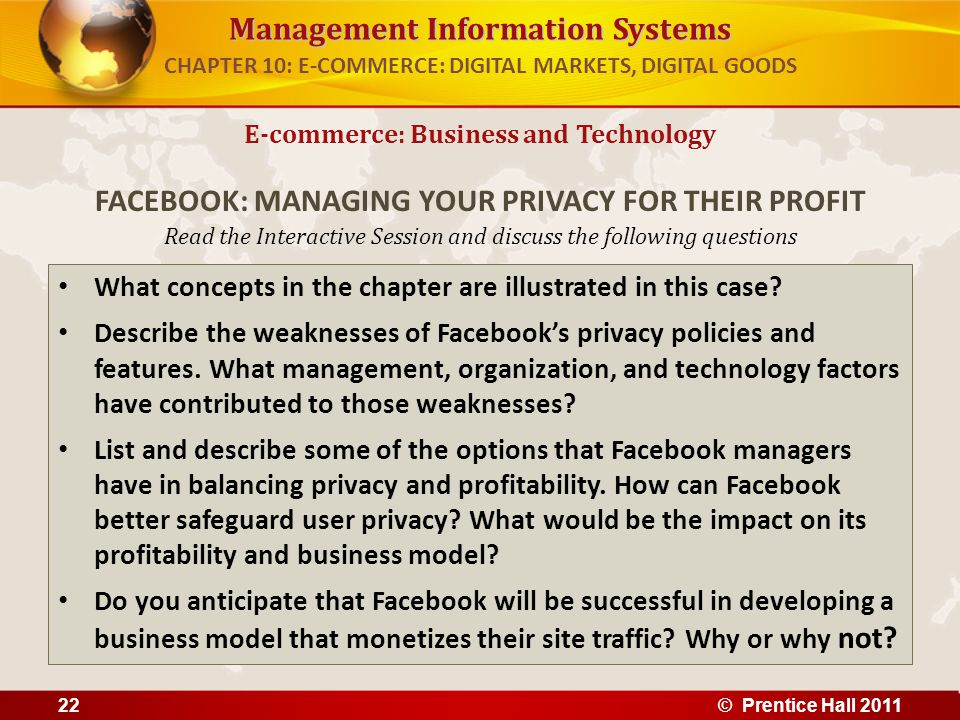 Management Information Systems Read the Interactive Session and discuss the following questions What concepts in the chapter are illustrated in this case.