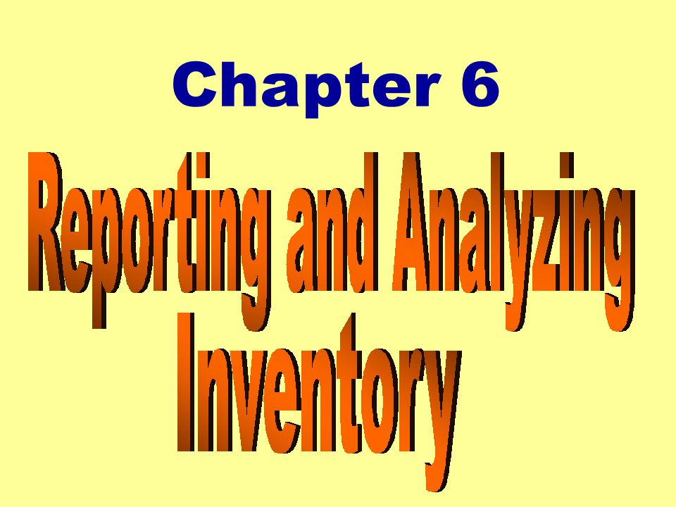 33 Taking a Physical Inventory zDetermining inventory quantities by counting, weighting or measuring each type of inventory.
