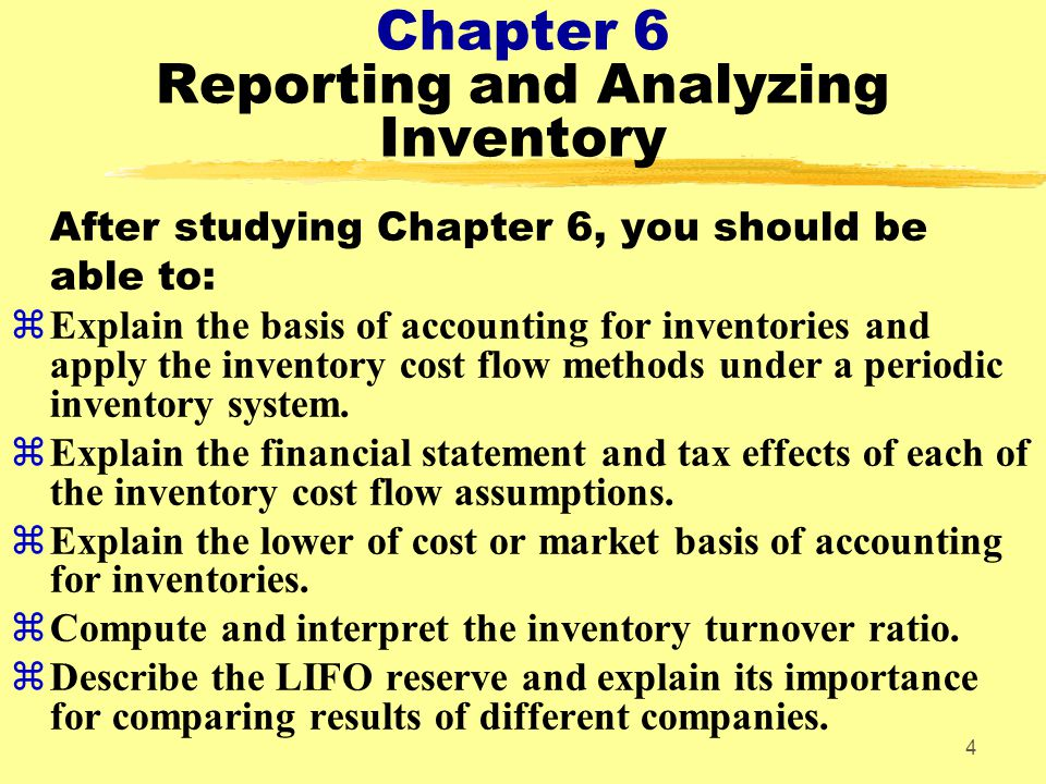 45 What Makes Cost Flow Assumptions Necessary? Changing Prices