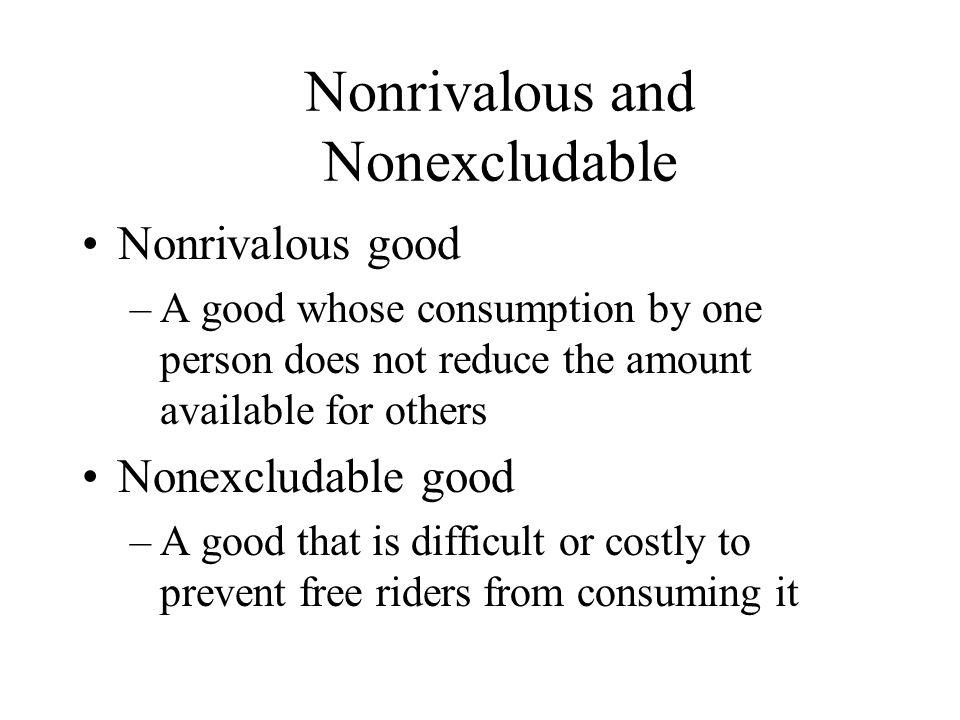 Classifying Goods