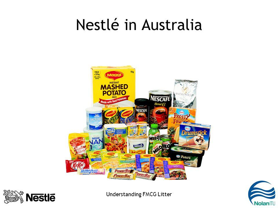 Understanding FMCG Litter Nestlé in Australia