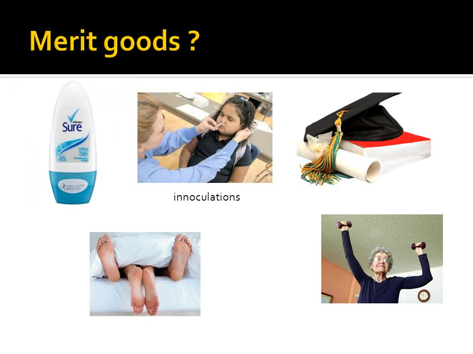 With the help of an appropriate diagram, explain why merit goods are often underprovided.