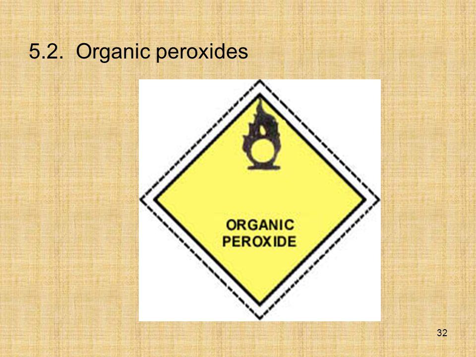 5.2. Organic peroxides 32