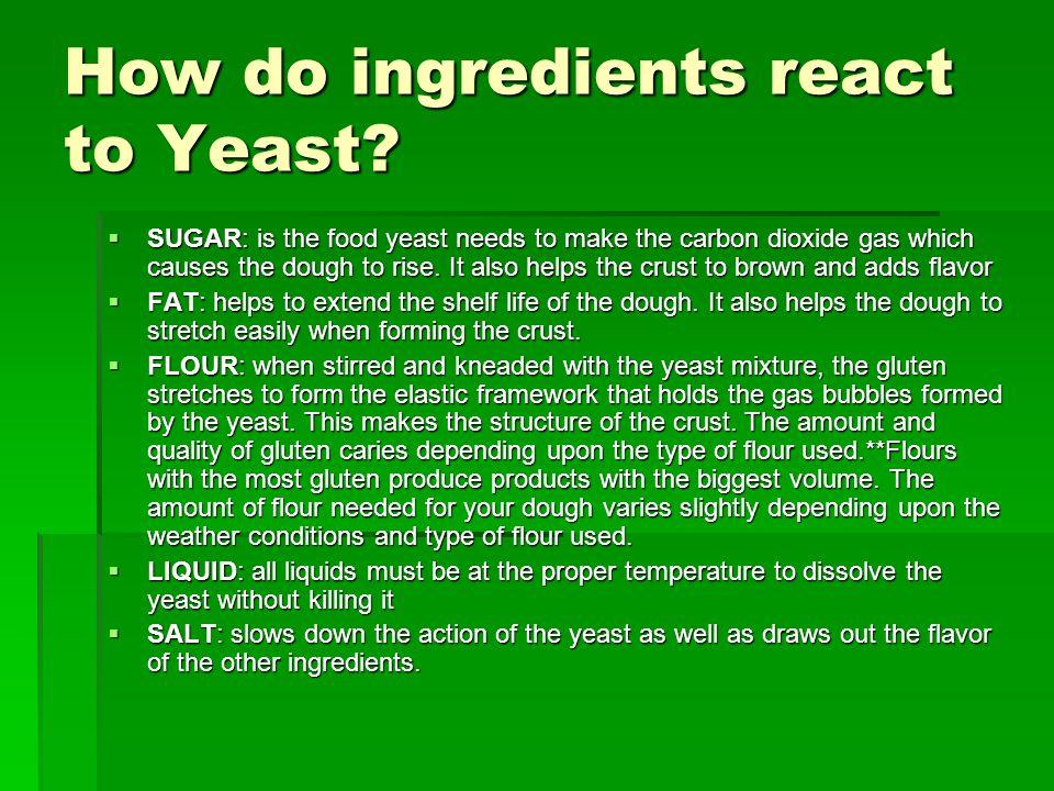 USING WHOLE WHEAT FLOUR Whole wheat flour has less gluten than white flour.