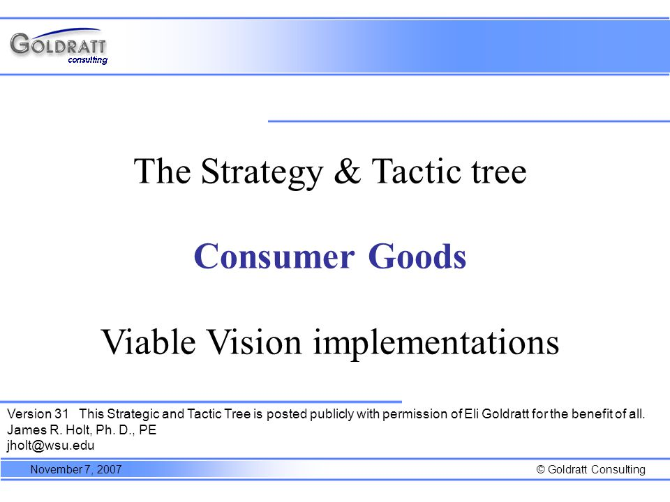4:16 Necessary assumptions Strategy Parallel assumptions Tactic Shipments or production orders are triggered only to replenish a consumption from a downstream point, (modified according to minimal batch sizes/full truck considerations).