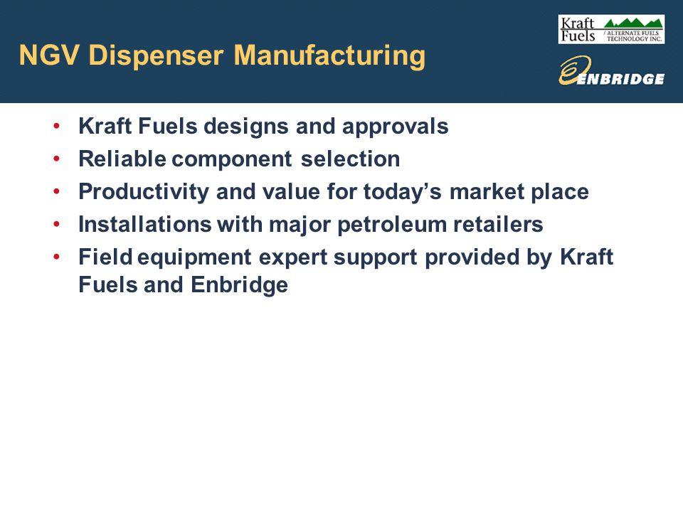 NGV Dispenser Manufacturing