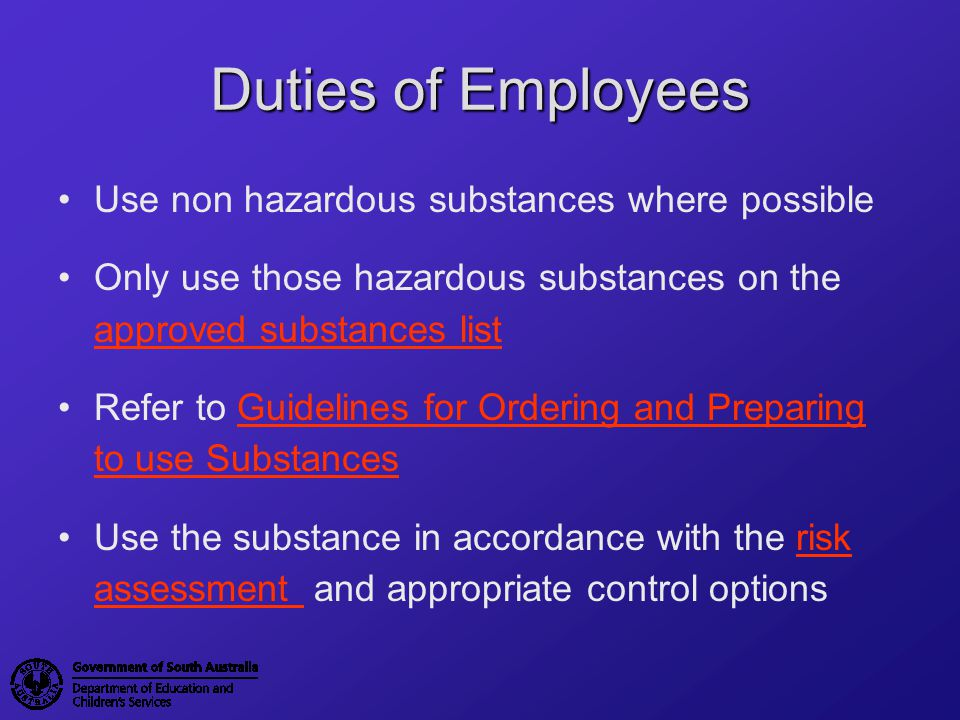What do I need to do if I want to use a substance.