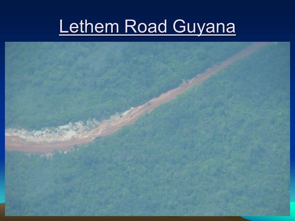 Lethem Road Guyana