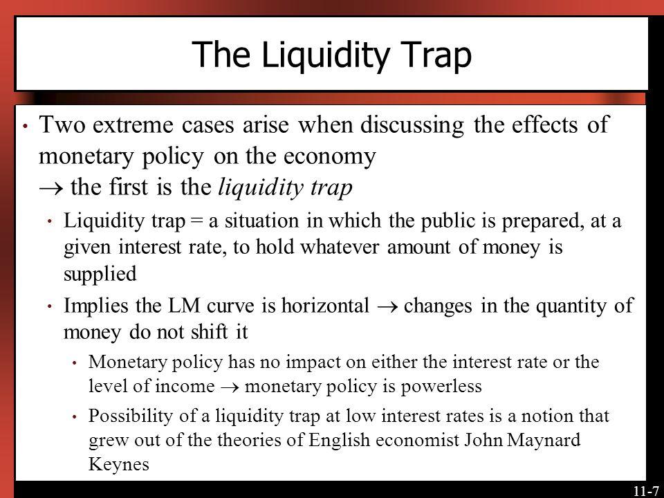 11-8 The Liquidity Trap Japanese interest rates