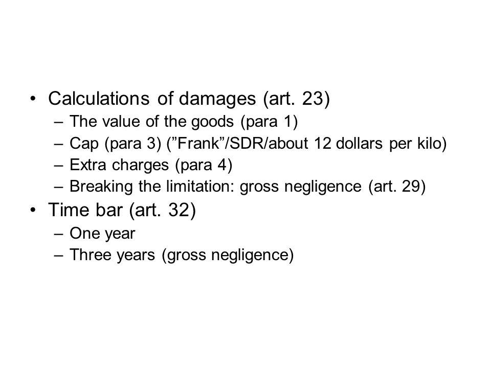 Overlapping liability regimes (art.
