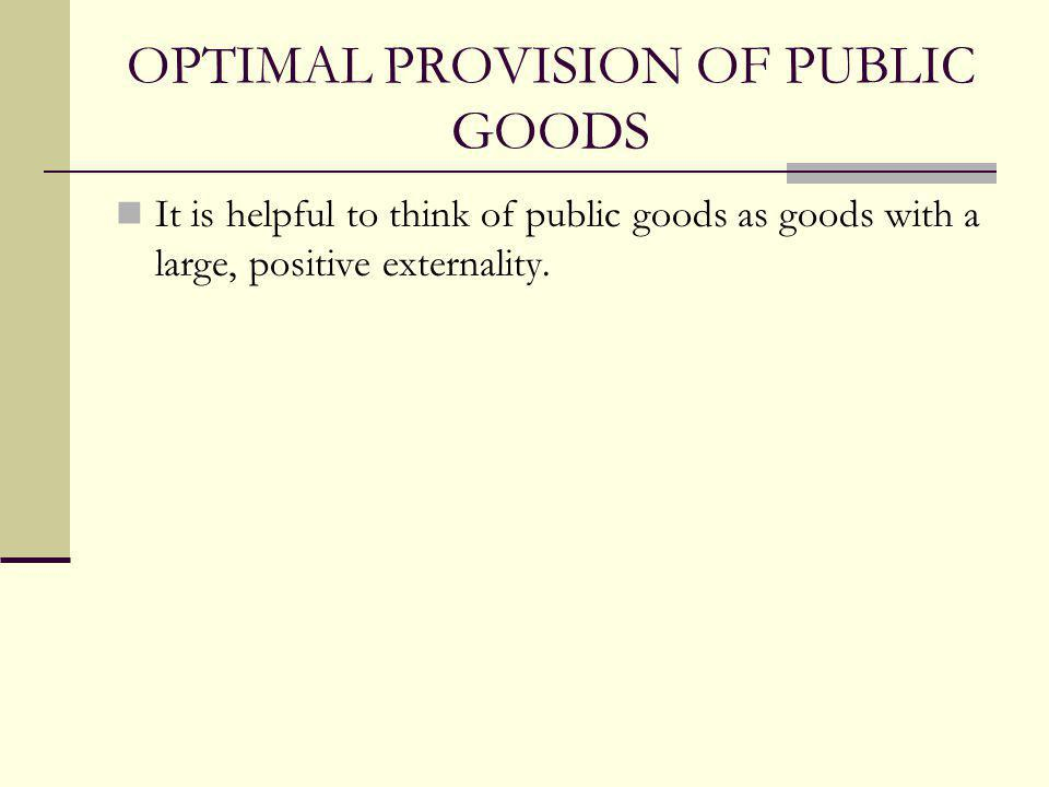 Private Provision of Public Goods: When is private provision likely to overcome the free rider problem .