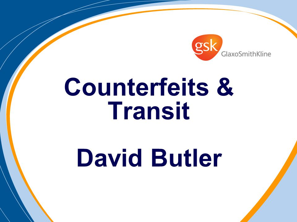 Counterfeits & Transit David Butler