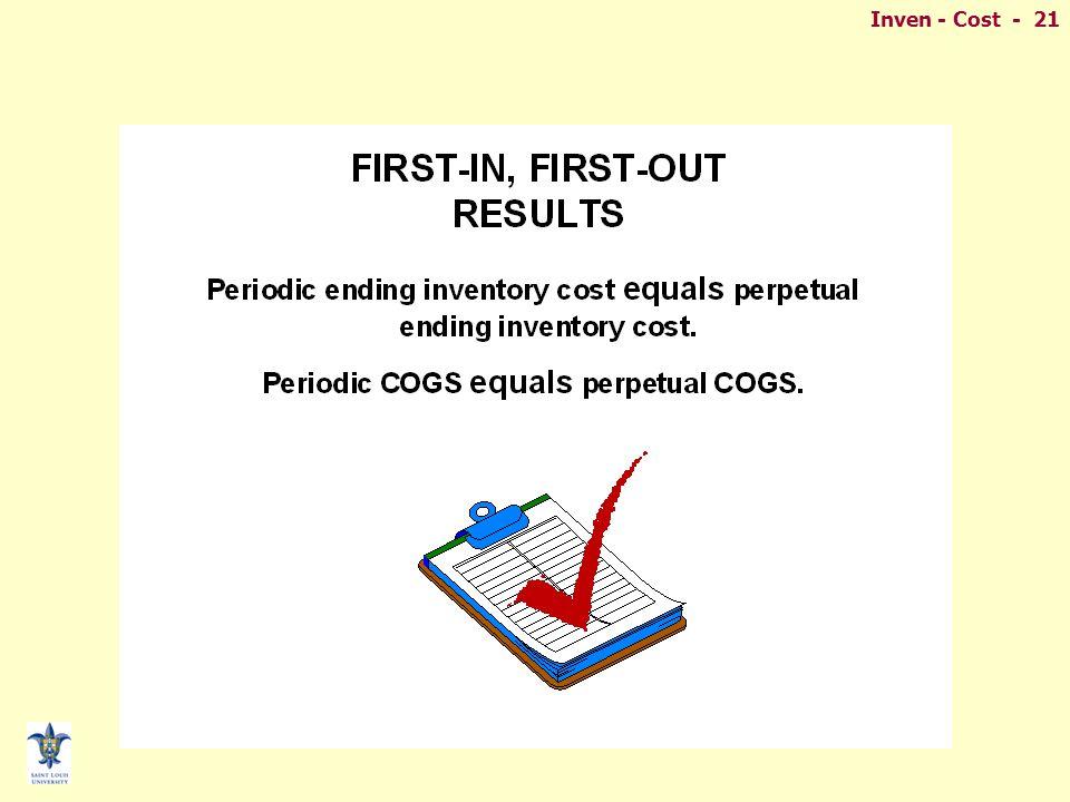 Inven - Cost - 21