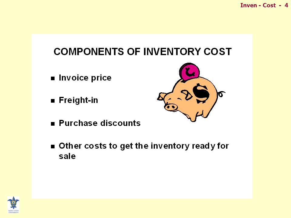 Inven - Cost - 4
