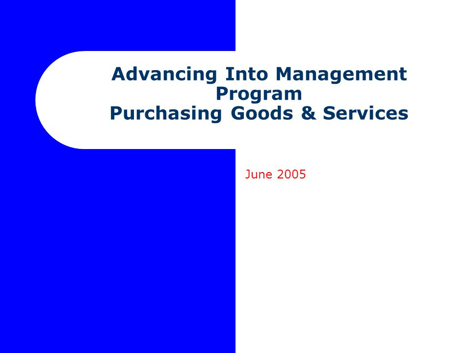 June 2005 www.procurement.utoronto.ca Procurement Methods Sole Sourcing Technical compatibility Only one supplier, no substitute exists Unforeseeable urgency Honour guarantees, warranties Procure a prototype Competitive Solicitation Request for Quotation: price is sole selection criterion Request for Proposal: desired outcome known, means and cost to achieve may vary; multiple selection criteria