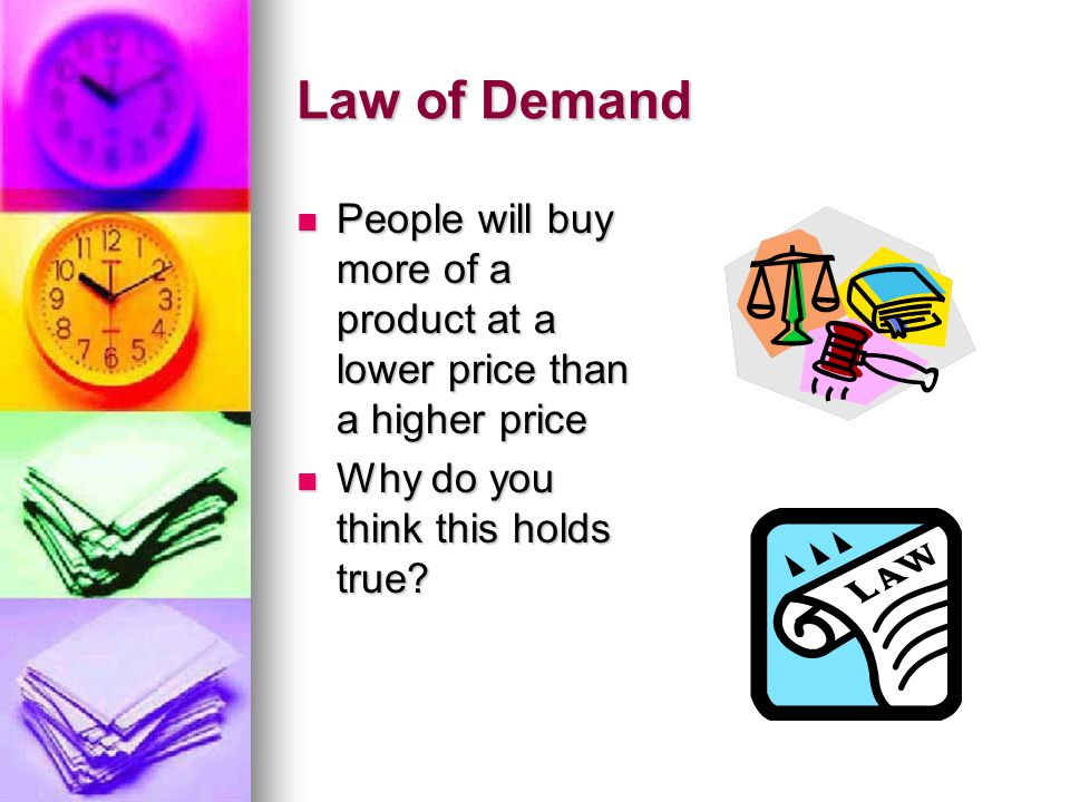 Potential Customers A large number of consumers can produce a greater demand for the good A large number of consumers can produce a greater demand for the good