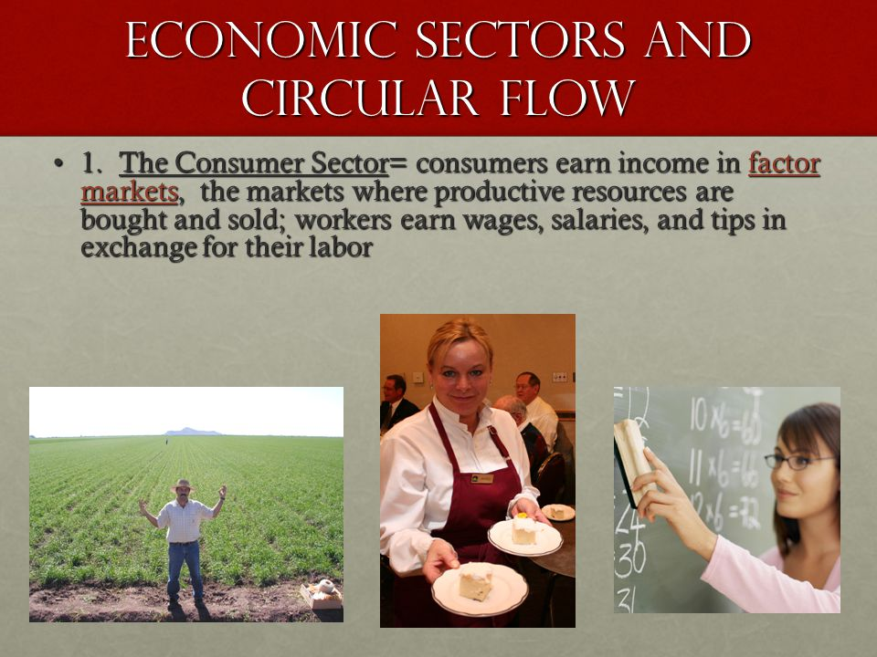 Economic Sectors and Circular Flow 1.