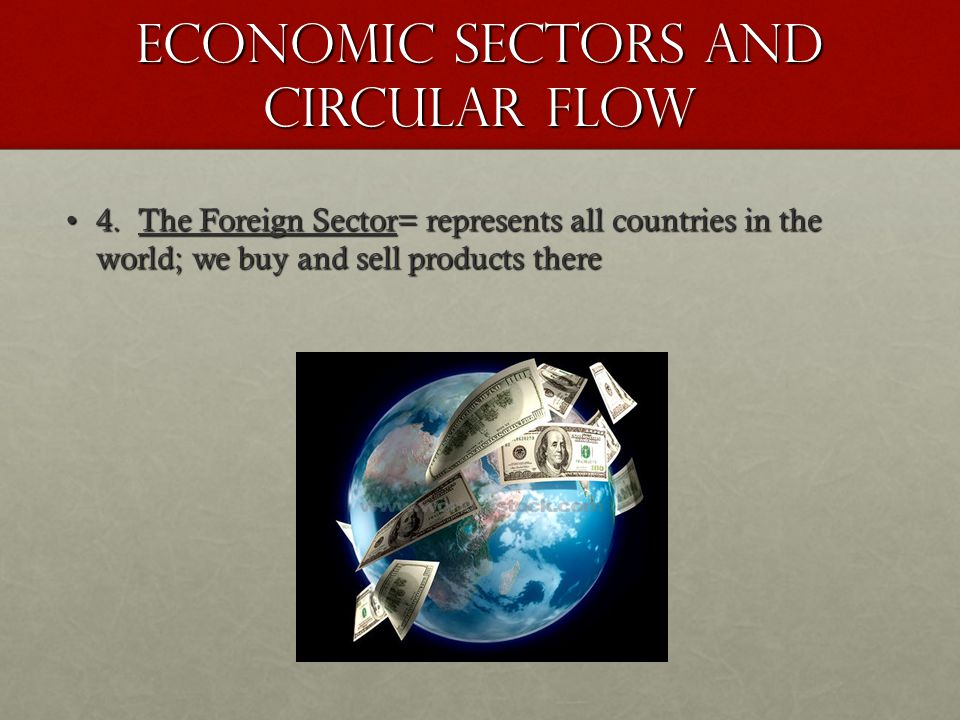 Economic Sectors and Circular Flow 4.