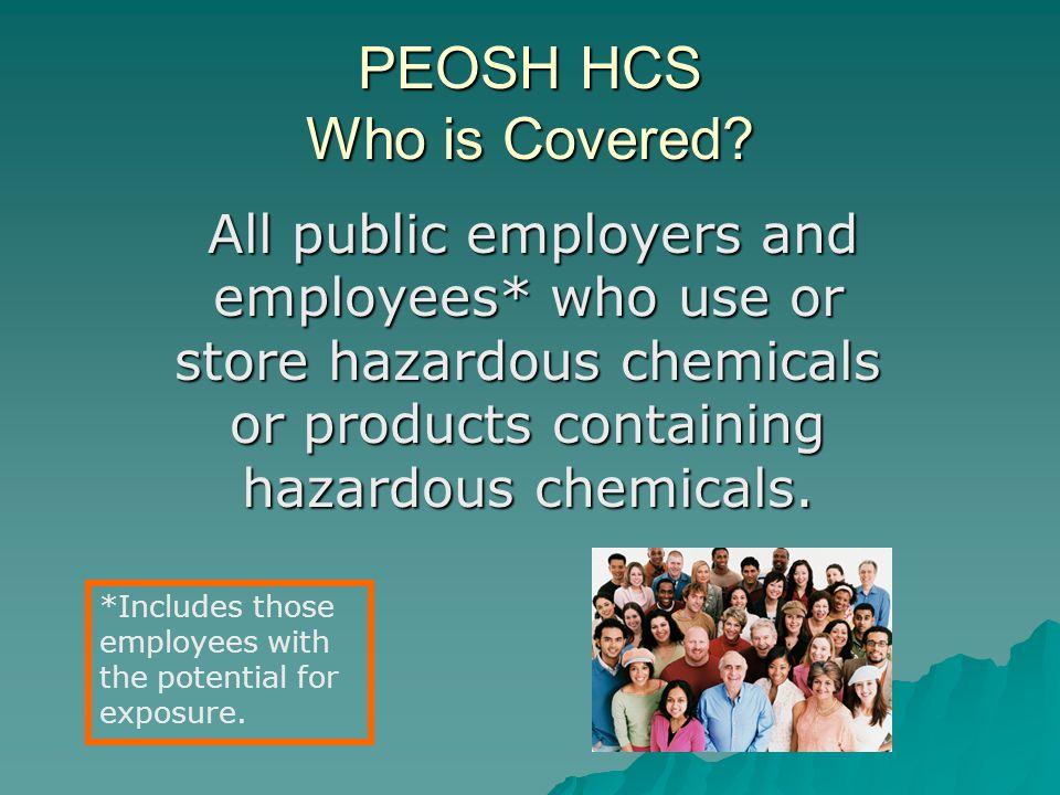 PEOSH HCS N.J.A.C.