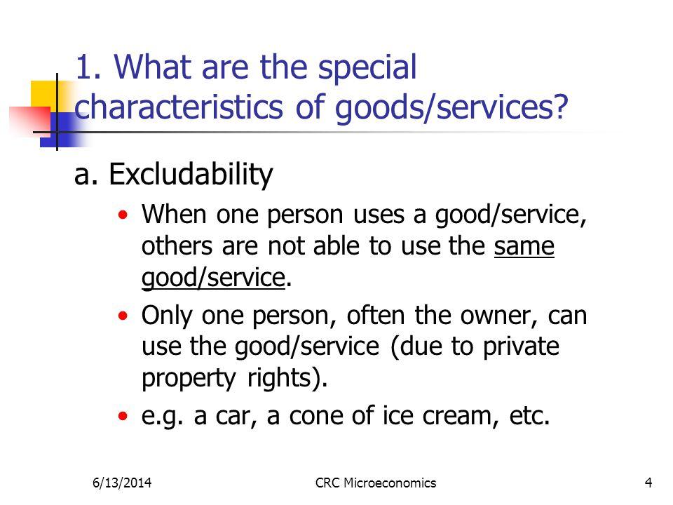 6/13/2014CRC Microeconomics4 a.