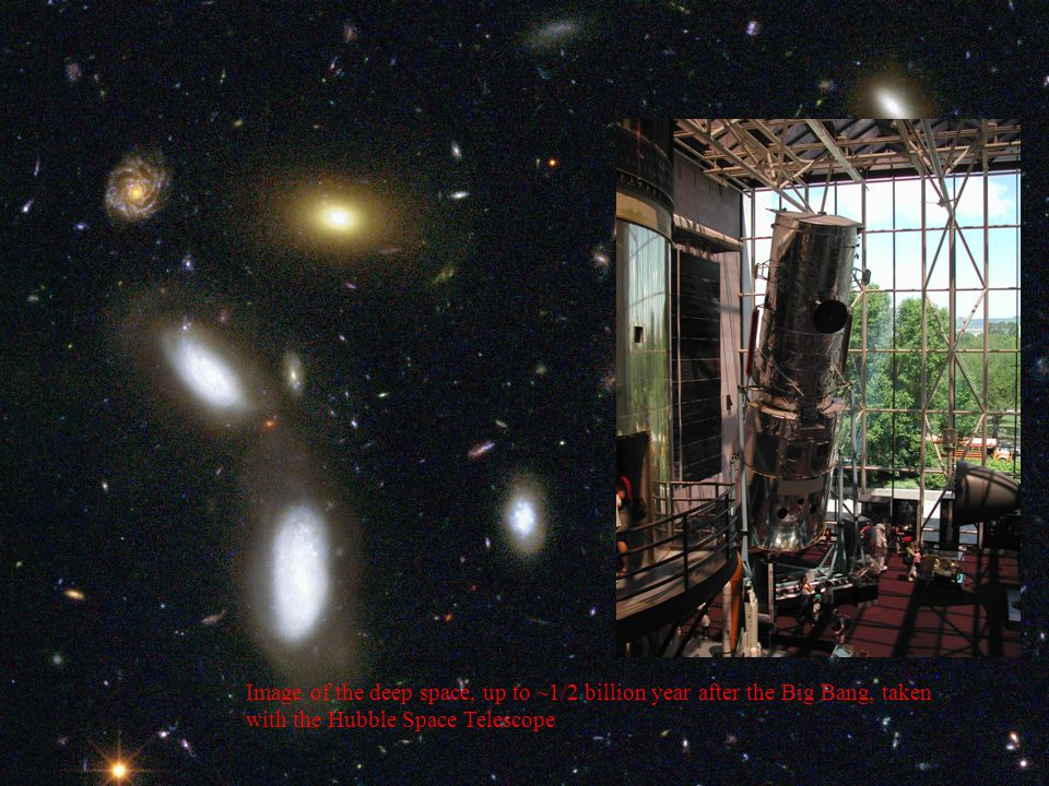 The time machine The speed of light is finite:300,000 km/s It takes time for light to move through space E.g.