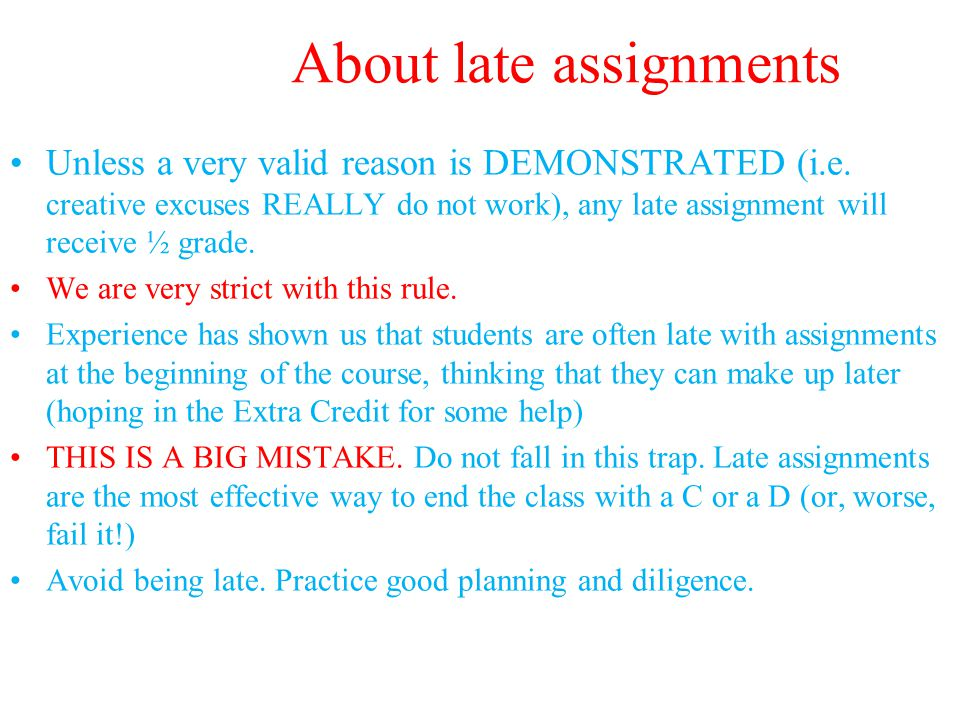 Course Requirements.II Grades: will be assigned on a modified straight scale.