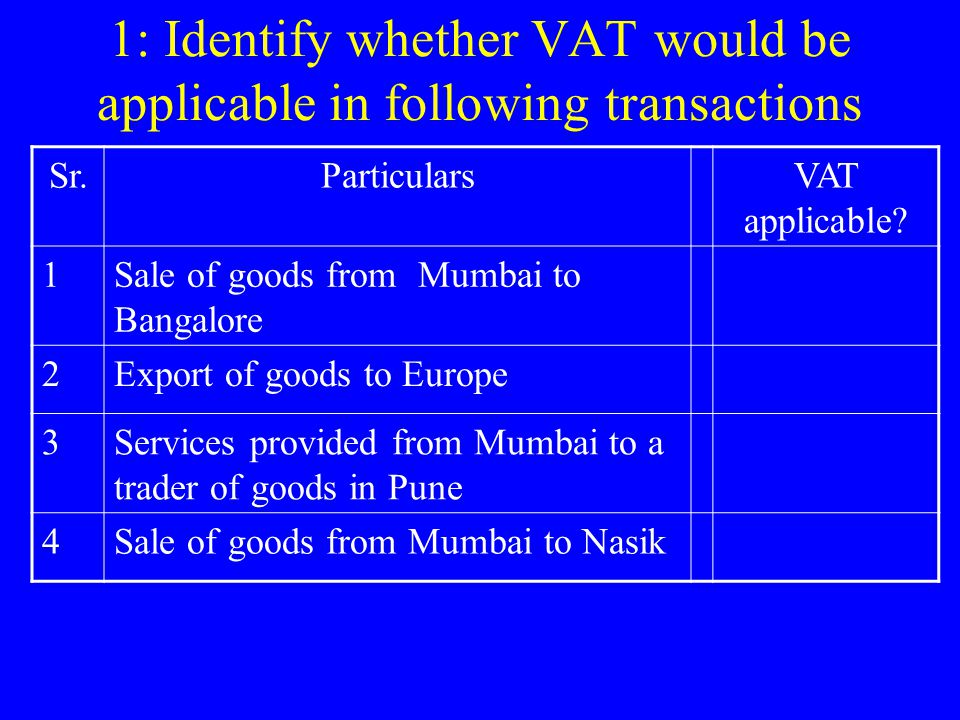 7: Calculate VAT payable by Clean Enviro Pvt.Ltd.