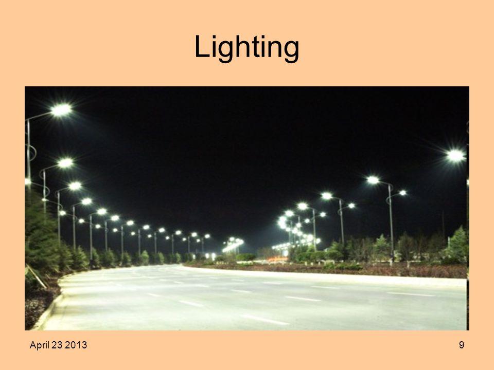 April 23 20139 Lighting