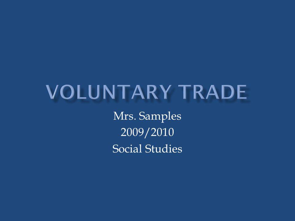 Mrs. Samples 2009/2010 Social Studies