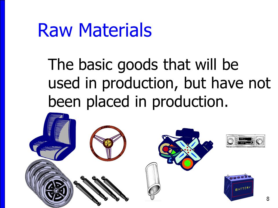 9 Determine Inventory Quantities Determine inventory quantities by counting, weighting or measuring each type of inventory.