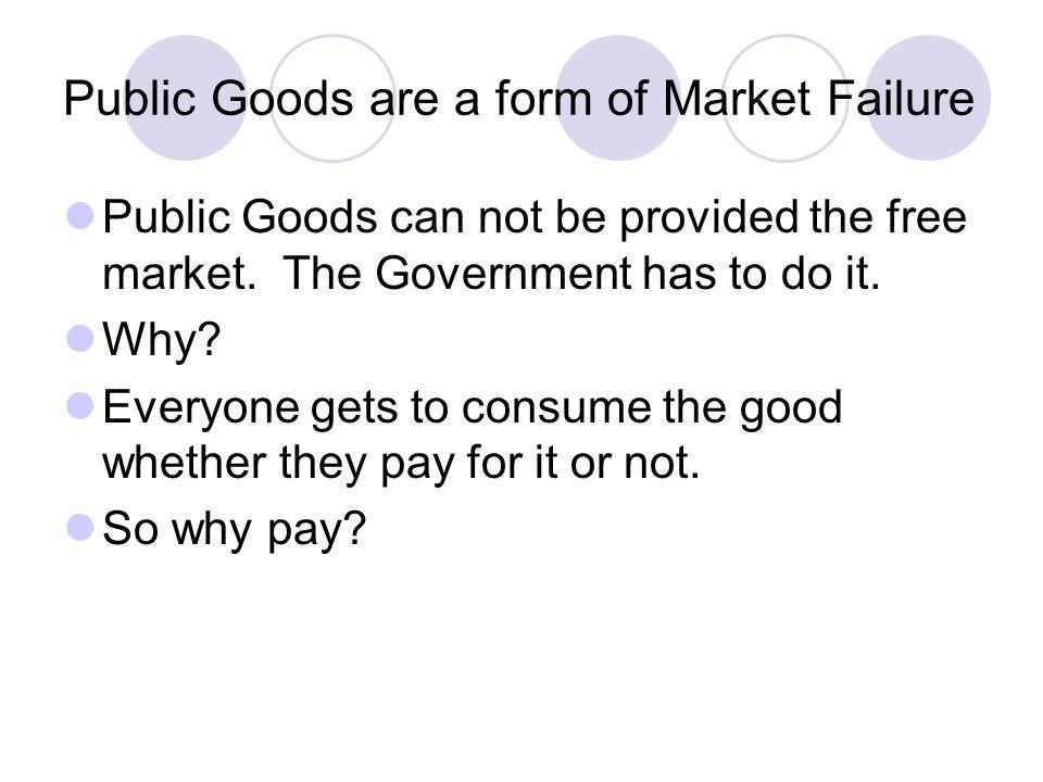 Government Provision of Public Goods Head Tax A tax that collects the same amount from every taxpayer Regressive Tax A tax under which the proportion of income paid in taxes declines as income rises.
