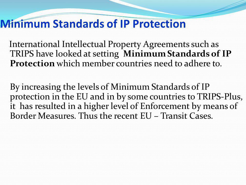 Proposal For Harmonization Border Measures and Actions by Customs for Genuine Goods or Generic Medicines in transit must be handled and treated differently from goods that are clearly Counterfeit A model law could be prepared and circulated by AIPPI.
