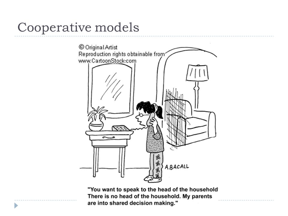 Cooperative models