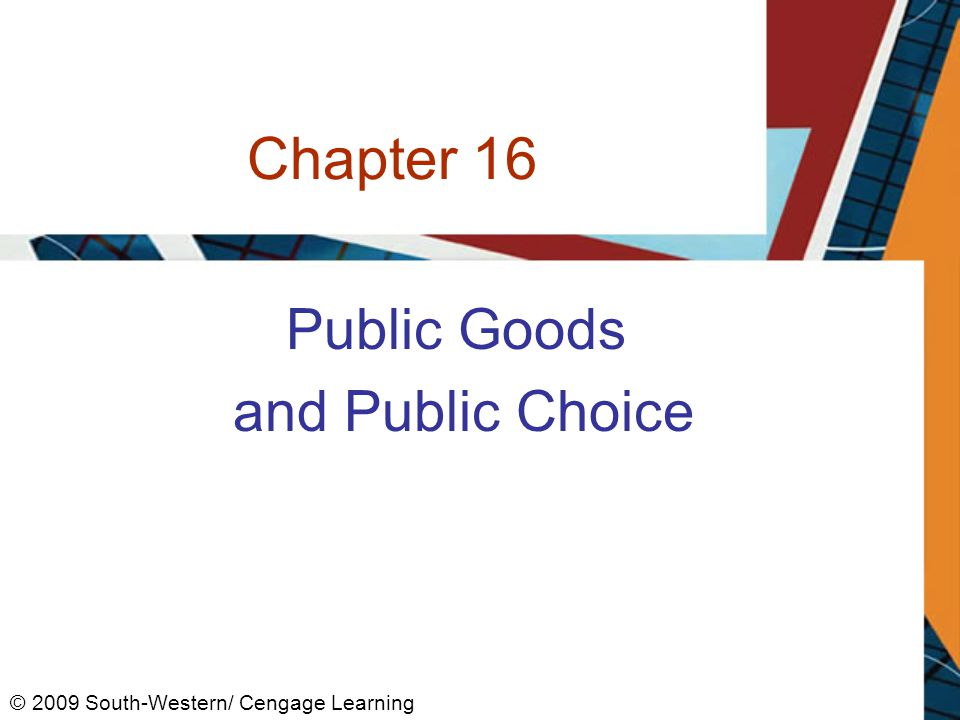 Private, Public Goods, and in Between 1.Private goods –Rival in consumption –Exclusive –Provided by private sector 2.Public goods –Nonrival in consumption –Nonexclusive –Provided by government 2