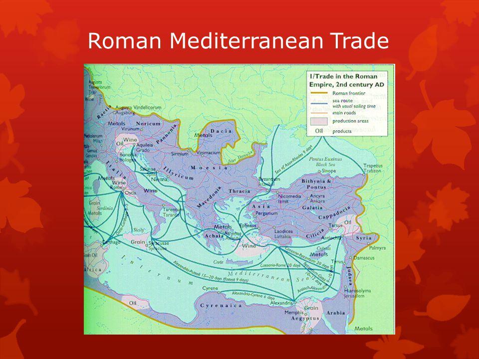Roman Mediterranean Trade