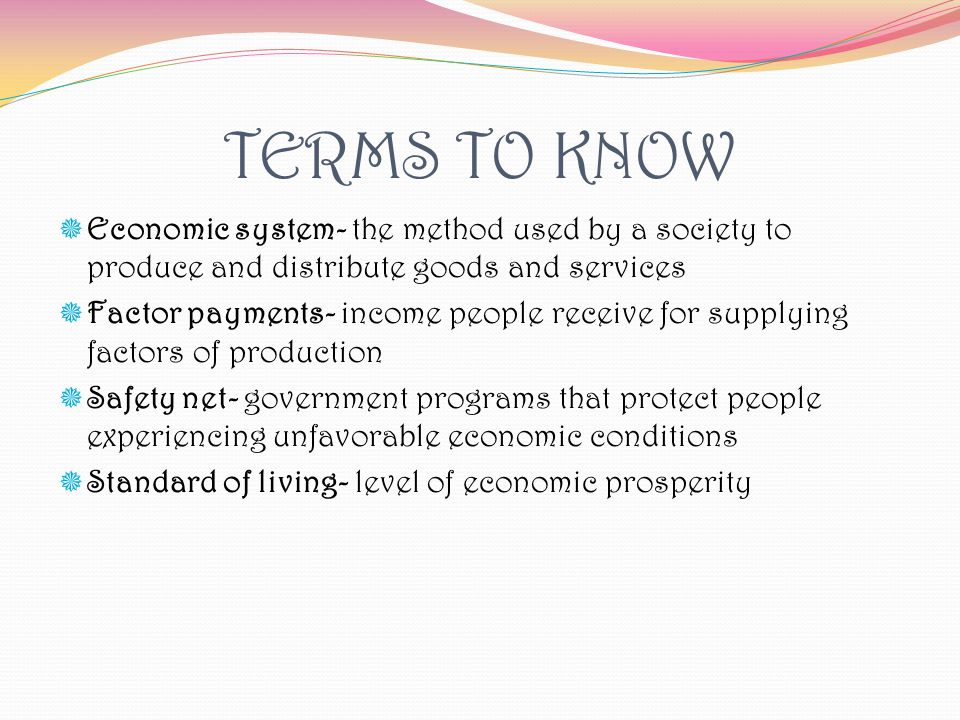 Economic Terms - Dr Hartnell's Nutty the A D D Squirrel