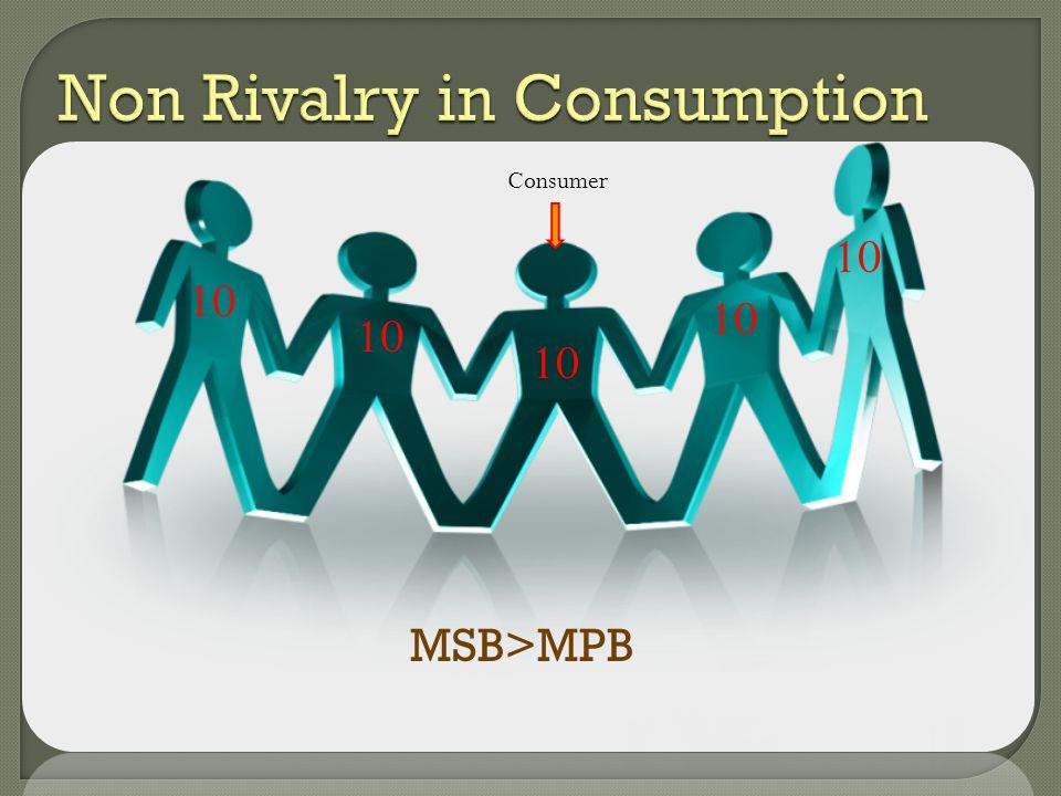 10 Consumer 10 MSB>MPB