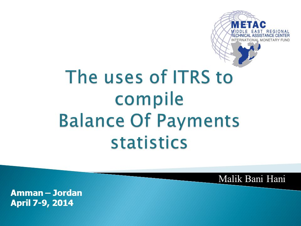 A large part of the information is readily available from banking records ITRS is a good source of information on list of enterprises with direct investment transactions Limitations: Only cash transactions are measured Noncash transactions such as reinvested earnings and equity in the form of machinery are not covered Problems with classification - concept of direct investment is difficult to explain on the generalized foreign exchange/banking form report form Information on levels of investment may not be readily provided Transactions in domestic currency or through accounts with banks abroad are difficult to measure
