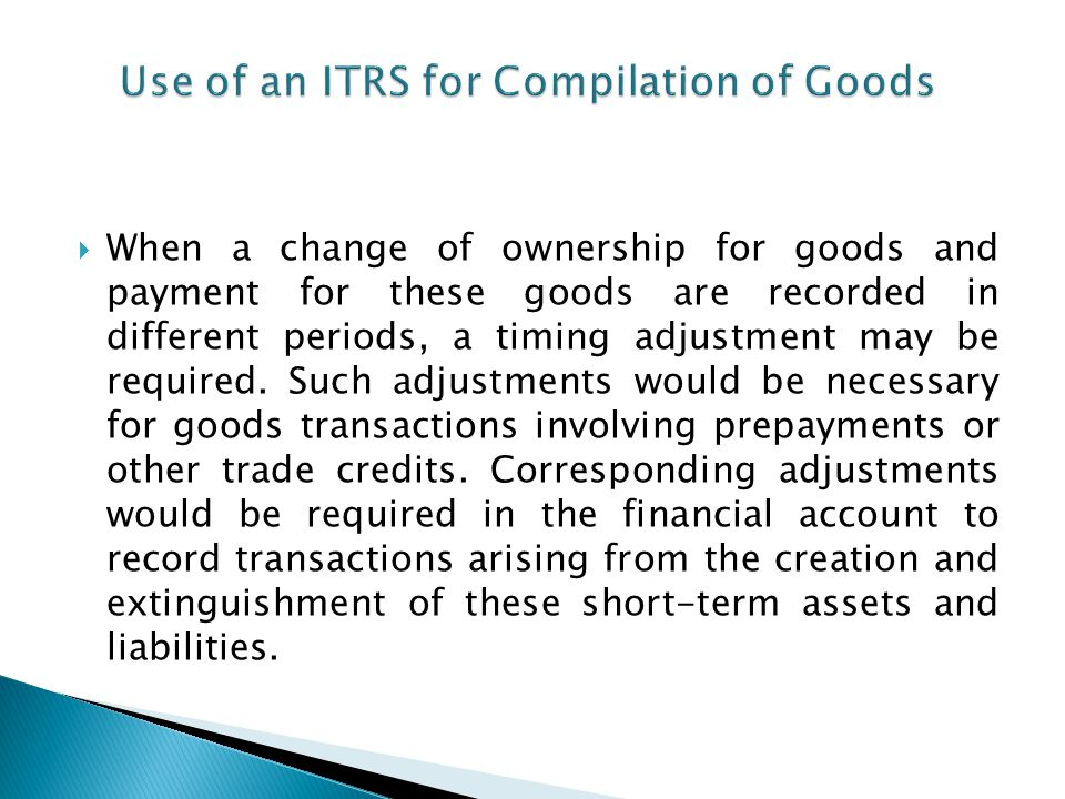 Compensation of Employees ITRS provide satisfactory coverage.