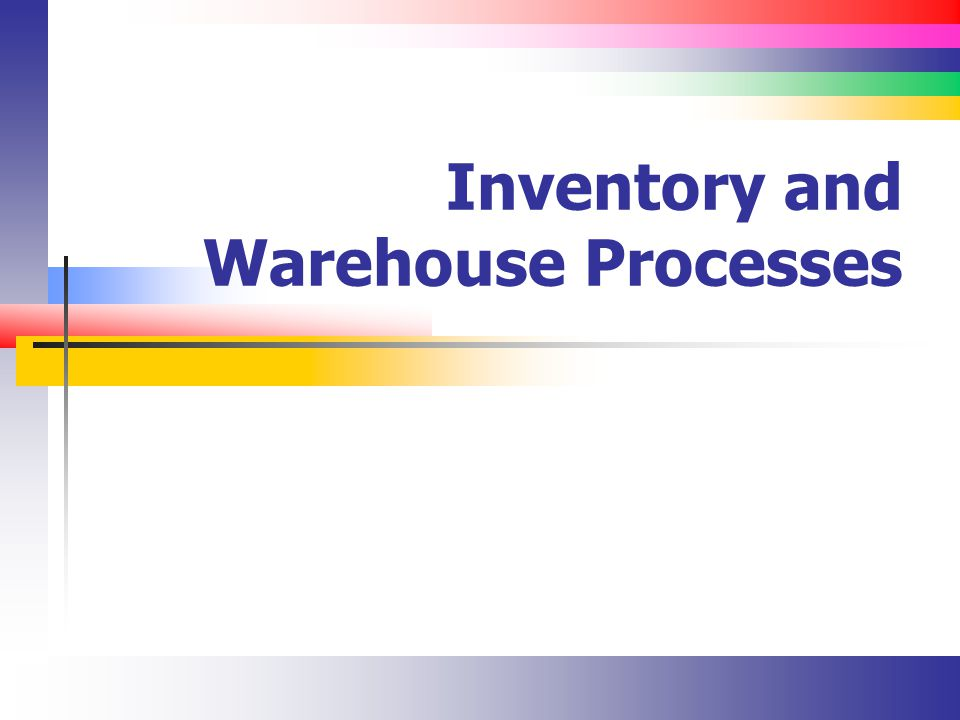 Slide 32 Transfer Postings (Examples) From vendor owned inventory to company owned inventory The vendor stores their materials in our warehouse (consignment stock) Change a materials characteristics over time