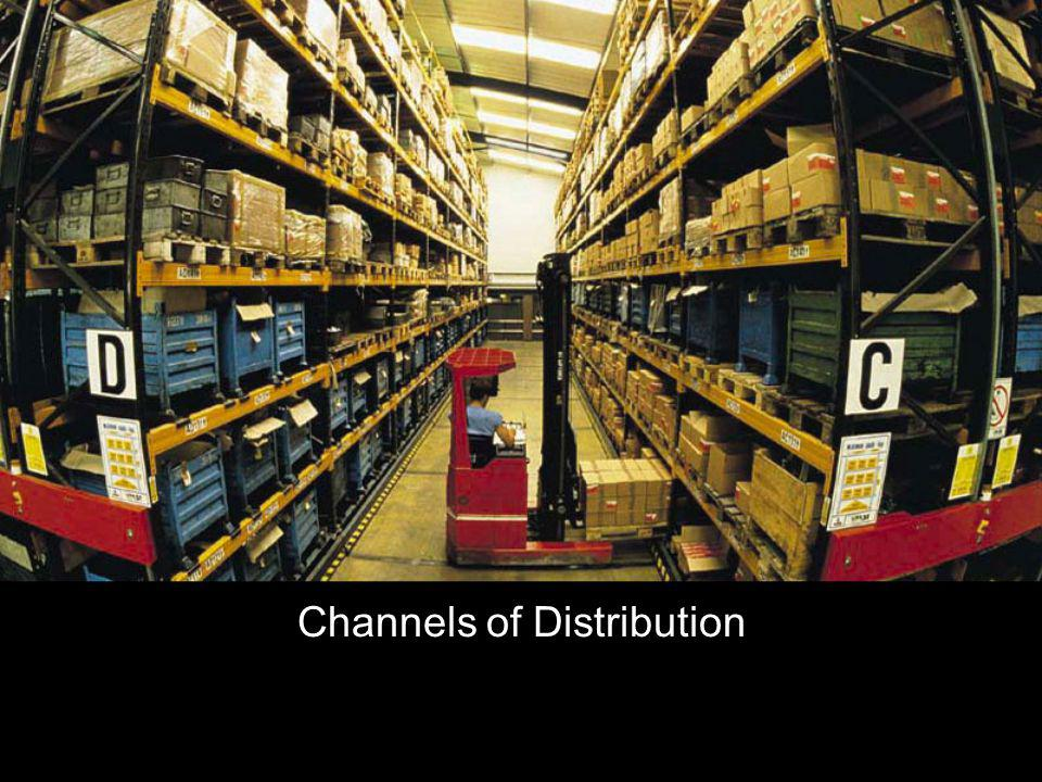 Distribution The concept of a channel of distribution Who channel members are The different non-store retailing methods How channels of distribution differ for consumer and business-to-business products What youll learn