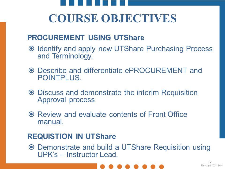 UTShare- Vendor Search 26 Revised - 02/19/14