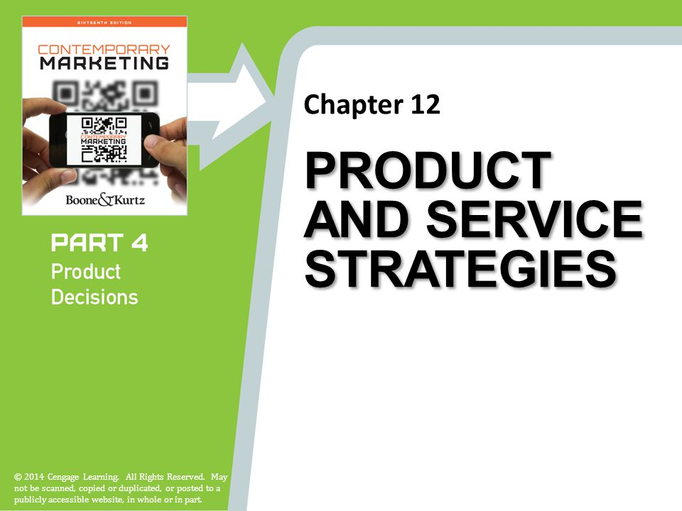 Chapter 12 © 2014 Cengage Learning. All Rights Reserved.