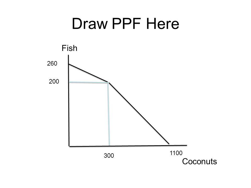 Fish Coconuts 260 1100 200 300