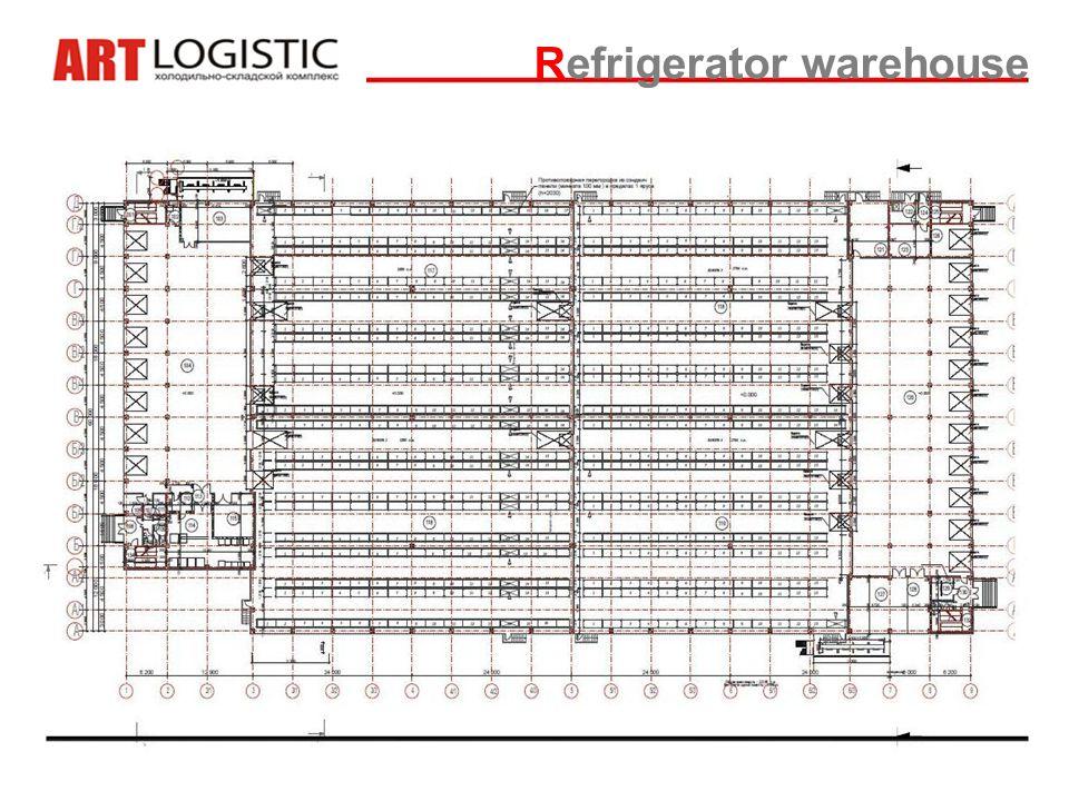 Refrigerator warehouse