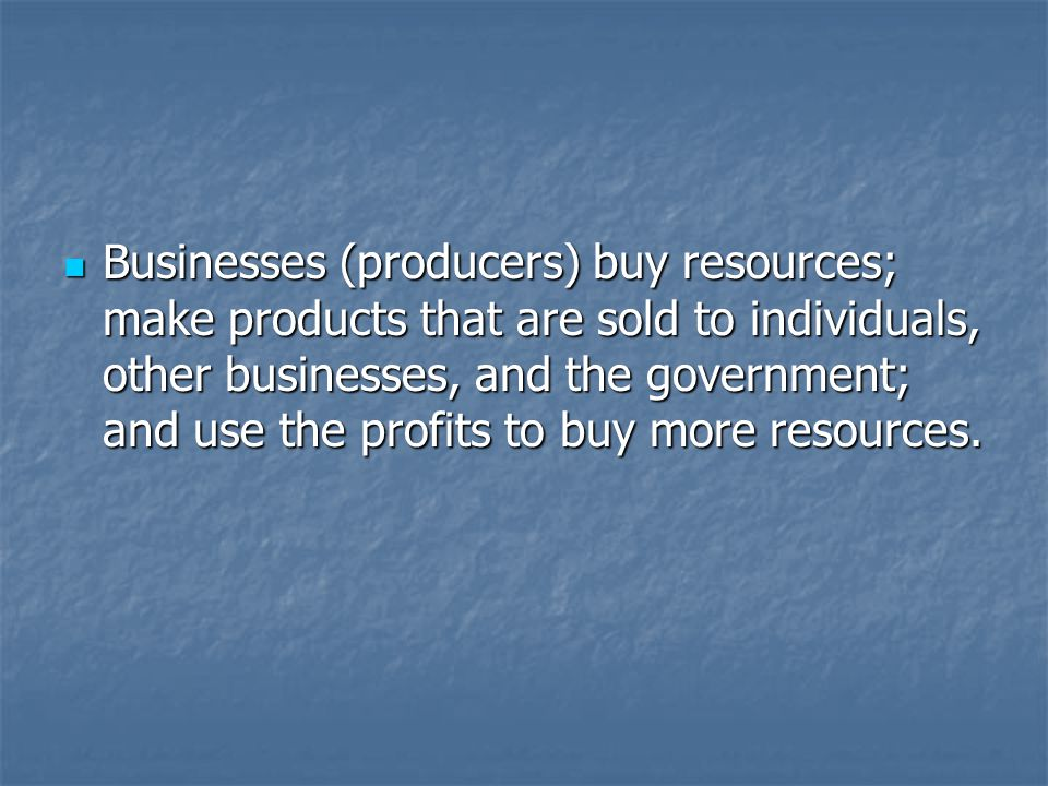 Governments use tax revenue from individuals and businesses to provide public goods and services.